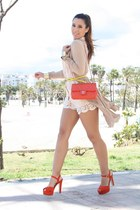 BLANCO shorts - Chanel bag - H&M blouse