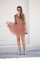 Primark dress - Zara vest