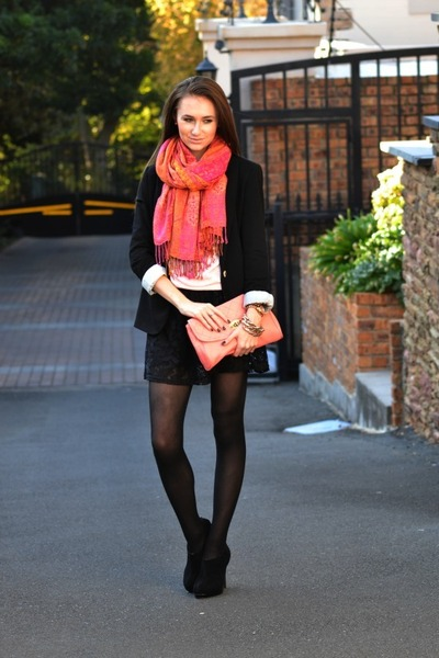 Mr Price boots - Forever 21 sweater - Zara blazer - Michael Kors watch