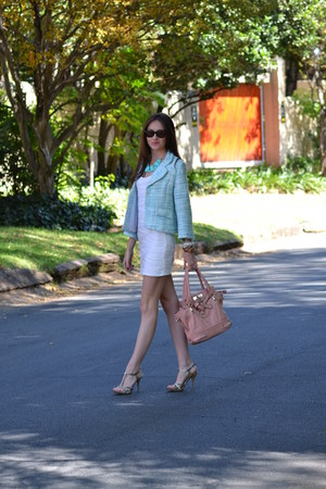 Mr Price blazer - Edgars shoes - Forever New dress - Forever New bag
