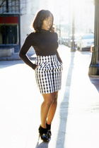 shirt - Anthropologie skirt