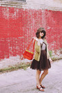 Vintage-dress-vintage-purse-vintage-cardigan-vintage-heels