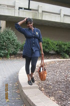 Old Navy dress - Forever 21 tights - Steve Madden shoes - burdines purse