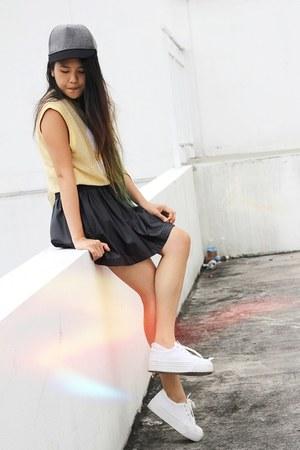 Zara skirt - asos shoes - asos hat - asos shirt
