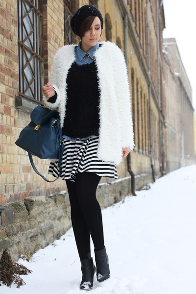 yeti Chicwish coat - MMM boots - New Yorker sweater - sammydress bag