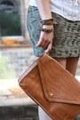 Brown-bag-olive-green-h-m-skirt-eggshell-only-blouse-brown-primark-wedges