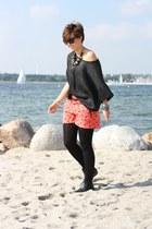asos boots - H&M shirt - Primark shorts