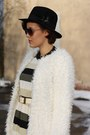 Fur-coat-h-m-boots-stripes-ax-paris-dress-bag