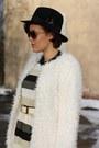 Fur-coat-h-m-boots-stripes-ax-paris-dress-bag