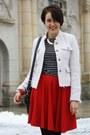Chicnova-skirt-wedges-mmm-for-h-m-shoes-yest-blazer-primark-shirt