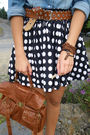 Black-socks-brown-deichmann-shoes-blue-primark-accessories-pimkie-blouse-