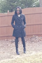 Fergielicious boots - asos coat
