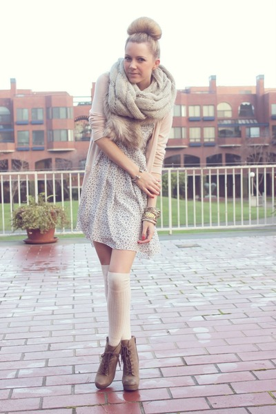 Luxury Rebel boots - Patterson J Kindcaid dress - BR cardigan