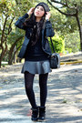 Black-beanie-oysho-hat-black-black-zara-blazer-black-cross-zara-bag