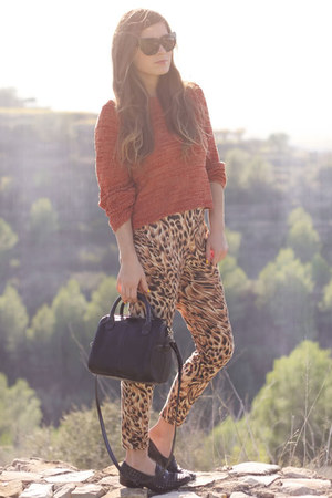 tawny sweater - asos pants - pants