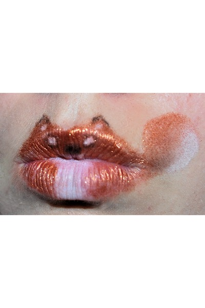 carrot orange orange lips used eyeshadows accessories