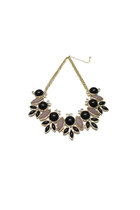 Sunshine Bib Necklace - Black