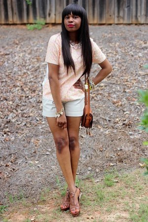 Chole bag - 31 Phillip Lim shorts - Gucci sandals - J Crew bracelet