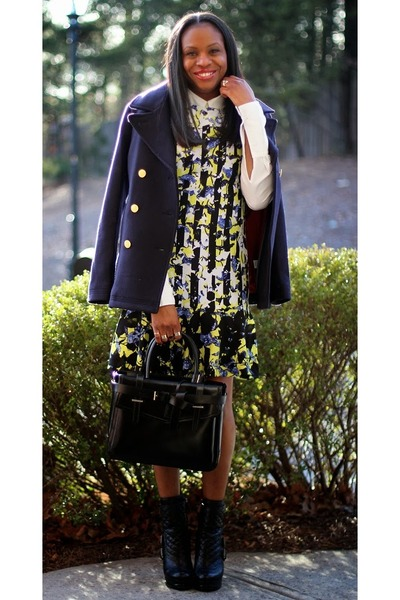 Nine West boots - p0 Peter Pilotto For Target dress