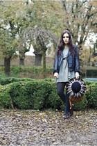 H&M dress - - hat - Primark tights - vintage shoes - bag
