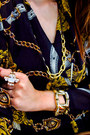 Gold-chains-river-island-flats-topshop-ring