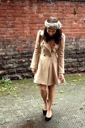 beige next coat - brown Primark accessories