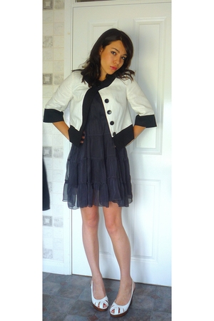 asos dress - Ethel Austin shoes - Ethel Austin jacket