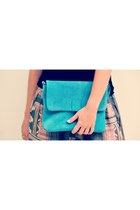 Turquoise-blue-elf-bag