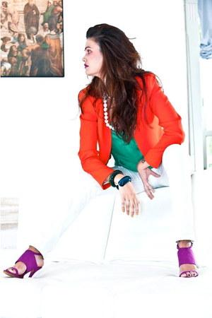 Zara blazer - Zara sandals