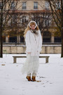 White-saks-accessories-beige-burberry-scarf-ivory-sonia-rykiel-cardigan-of