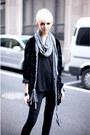 Silver-cotton-scarf