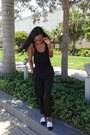 Black-tank-top-james-perse-shirt-black-olive-and-oak-nyc-pants
