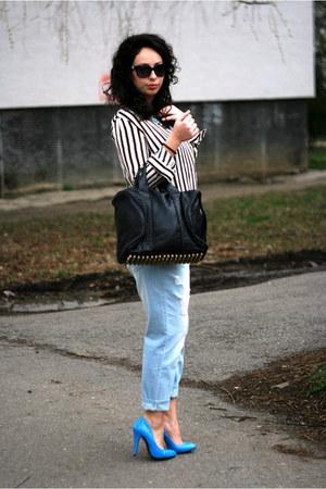 BagInc bag - OASAP jeans - Choies shirt