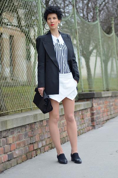 Maison Martin Margiela for H&M blazer - Zara bag - Zara shorts
