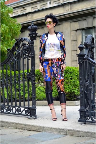 Zara jacket - H&M shoes - zeroUV sunglasses - Zara pants