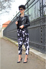 Sheinside-jacket-oasap-sunglasses-zara-pants-rockspapermetal-necklace