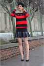 Rockwithu-sweater-ahaishopping-skirt