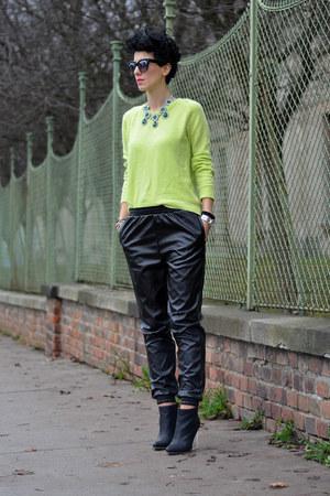 Anna Dello Russo for H&M necklace - Maison Martin Margiela for H&M boots