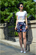Zara skirt - Zara shoes - Zara shirt