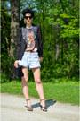 H-m-shoes-zara-shoes-sheinside-blazer-levis-shorts-zerouv-sunglasses
