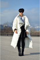 Maison Martin Margiela for H&M coat - Isabel Marant boots