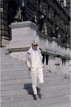 Sheinside jacket - zeroUV sunglasses - Front Row Shop pants