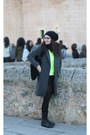 Zara-coat-fluor-jumper-skirt