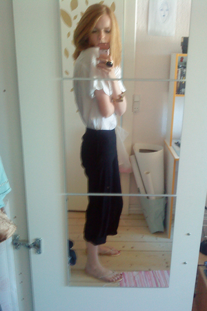 Only blouse - H&M pants
