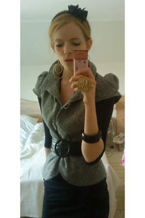 pieces accessories - asos earrings - GINA TRICOT accessories - H&M bracelet
