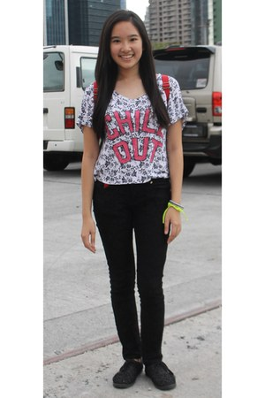 Deena & Ozzy bag - Dickies pants - Keds sneakers - PInx Code top