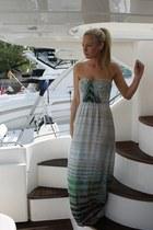 tie dye Cynthia Vincent dress