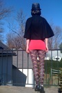 Black-forever21-coat-pink-h-m-top-black-forever21-leggings-silver-forever2