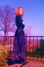 Black-walmart-cardigan-purple-forever21-dress-black-target-belt-black-fore