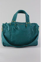 faux leather imported bag